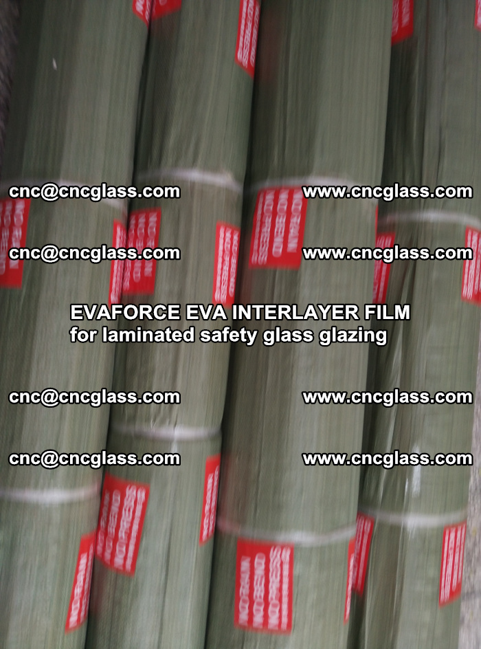 EVAFORCE EVA INTERLAYER FILM for laminated safety glass glazing (81)