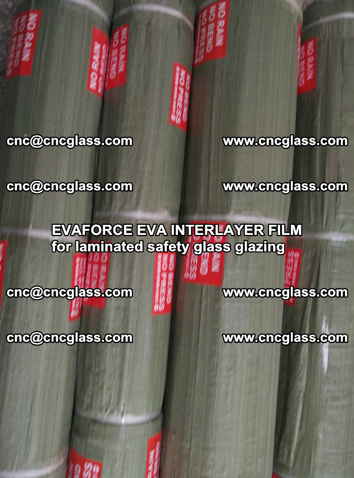 EVAFORCE EVA INTERLAYER FILM for laminated safety glass glazing (82)
