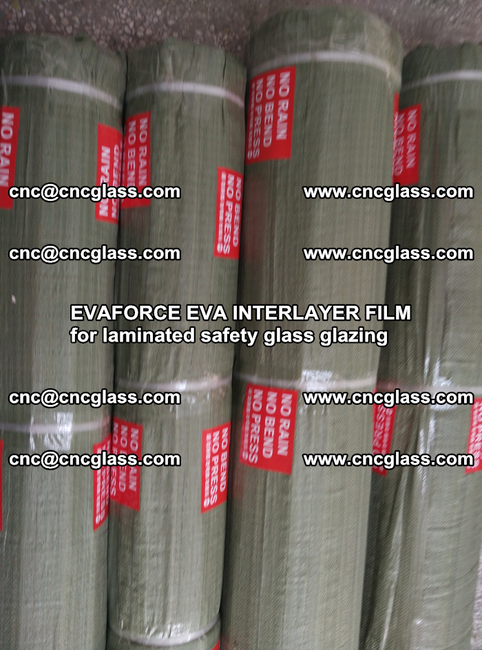 EVAFORCE EVA INTERLAYER FILM for laminated safety glass glazing (83)