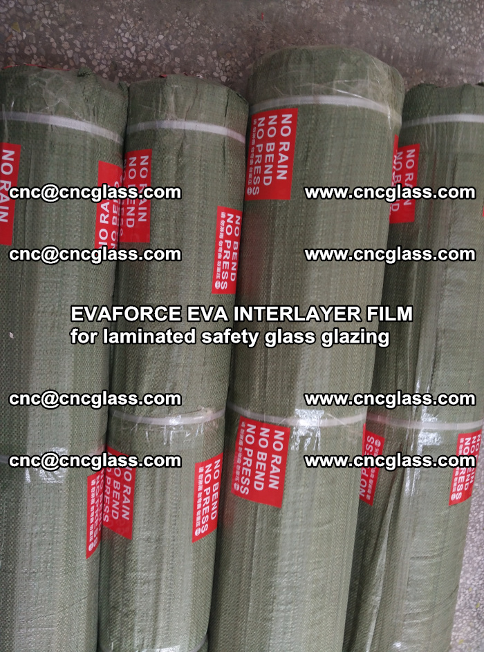 EVAFORCE EVA INTERLAYER FILM for laminated safety glass glazing (84)