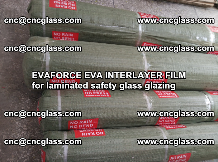 EVAFORCE EVA INTERLAYER FILM for laminated safety glass glazing (85)