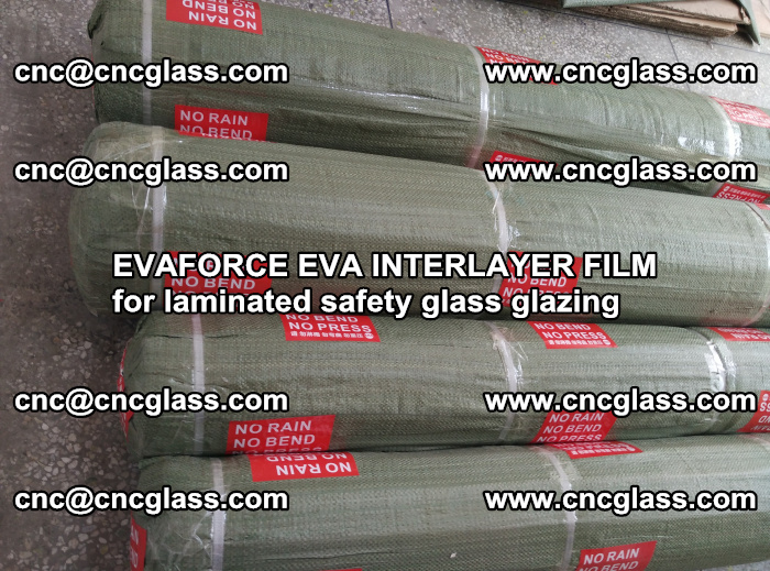 EVAFORCE EVA INTERLAYER FILM for laminated safety glass glazing (86)