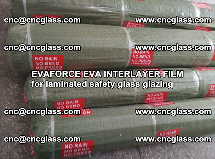 EVAFORCE EVA INTERLAYER FILM for laminated safety glass glazing (87)