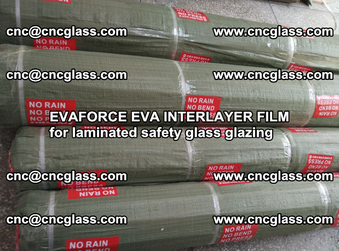 EVAFORCE EVA INTERLAYER FILM for laminated safety glass glazing (89)