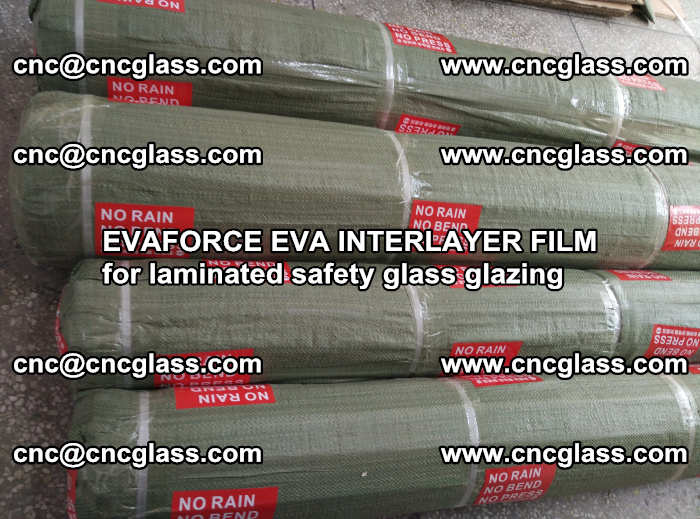 EVAFORCE EVA INTERLAYER FILM for laminated safety glass glazing (90)