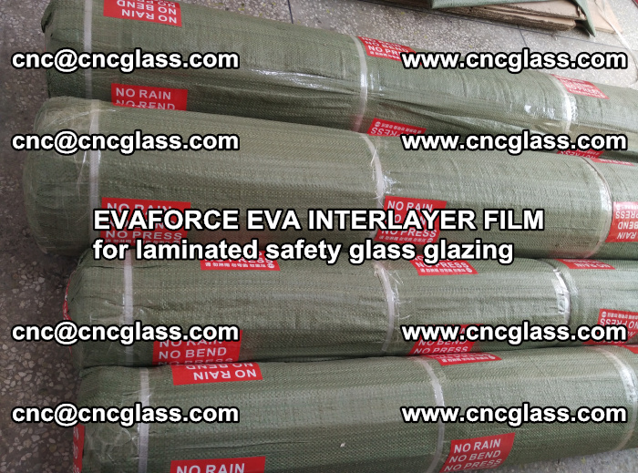 EVAFORCE EVA INTERLAYER FILM for laminated safety glass glazing (91)