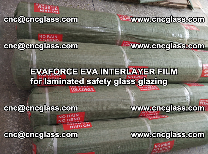 EVAFORCE EVA INTERLAYER FILM for laminated safety glass glazing (92)