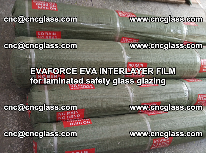 EVAFORCE EVA INTERLAYER FILM for laminated safety glass glazing (93)