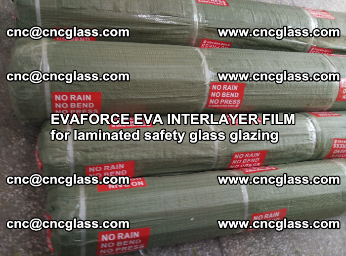 EVAFORCE EVA INTERLAYER FILM for laminated safety glass glazing (95)