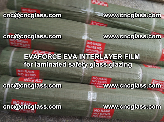 EVAFORCE EVA INTERLAYER FILM for laminated safety glass glazing (96)