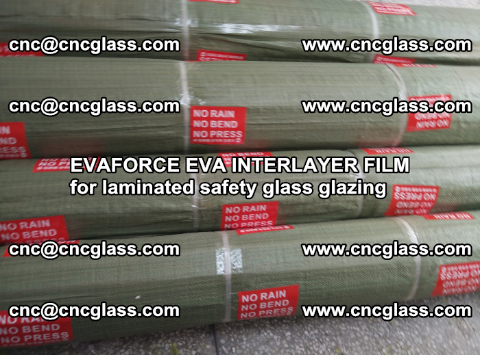 EVAFORCE EVA INTERLAYER FILM for laminated safety glass glazing (97)