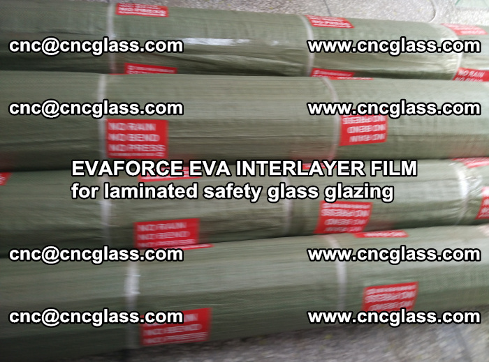 EVAFORCE EVA INTERLAYER FILM for laminated safety glass glazing (98)