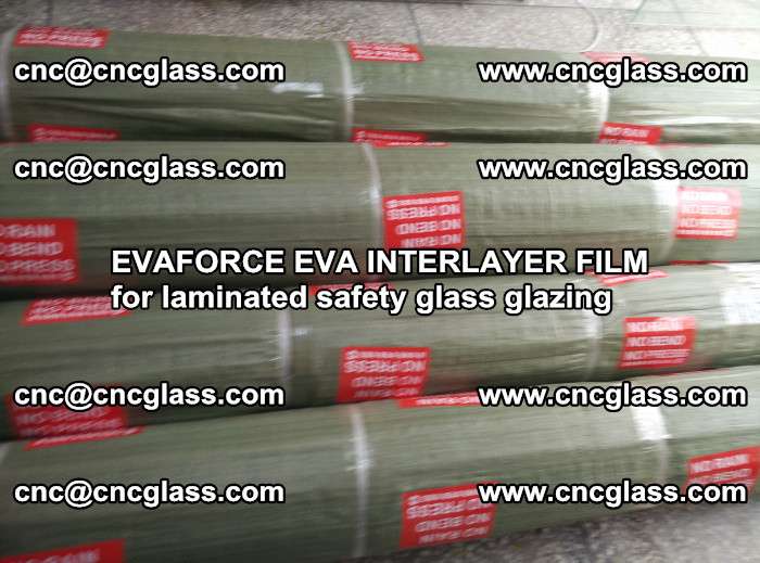 EVAFORCE EVA INTERLAYER FILM for laminated safety glass glazing (99)