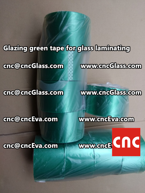 heat resistance green tape for glass vacuum (2)
