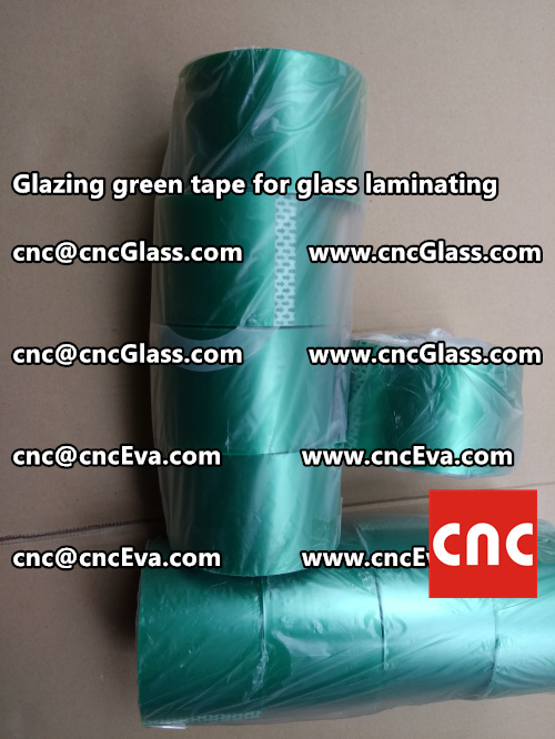 heat resistance green tape for glass vacuum (3)
