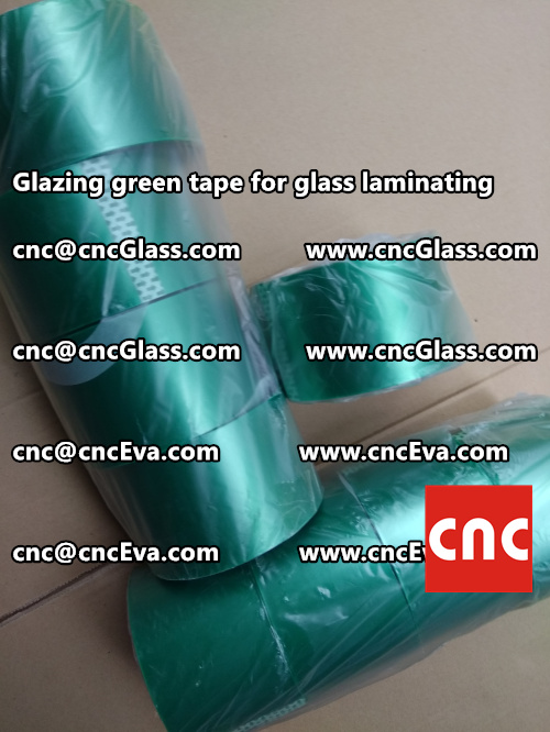 heat resistance green tape for glass vacuum (4)
