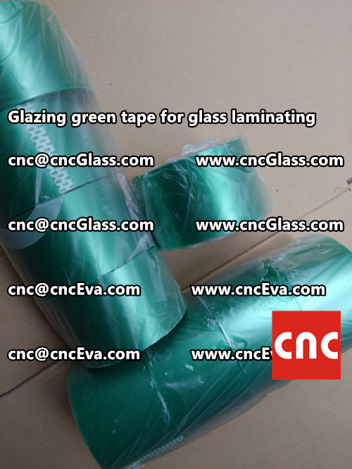 heat resistance green tape for glass vacuum (5)