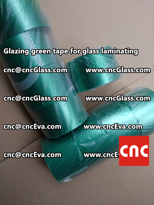 heat resistance green tape for glass vacuum (6)
